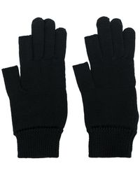 Rick Owens - Knitted Gloves - Lyst