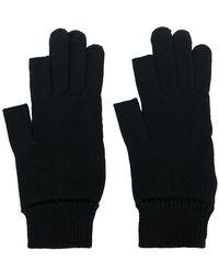 Rick Owens - Gestrickte Handschuhe - Lyst