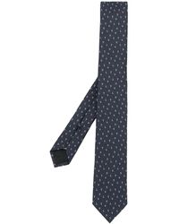 Valentino Vltn Jacquard Necktie - Blue
