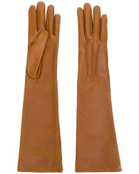 Jil Sander - Long Gloves - Lyst