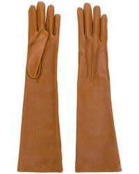 Jil Sander - Long Gloves - Lyst