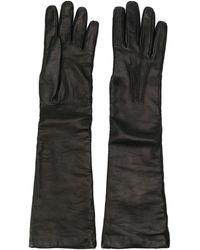 P.A.R.O.S.H. Перчатки Длиной Три Четверти - Черный