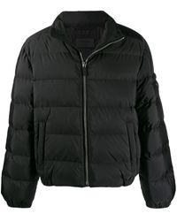 Prada Gewatteerd Donsjack - Zwart