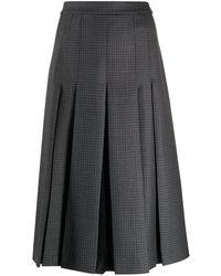 Maison Margiela - コントラストパネル スカート - Lyst