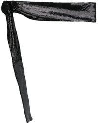 IRO - Sequined Tie Belt - Lyst