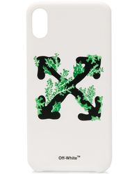 Off-White c/o Virgil Abloh ロゴ Iphone Xs Max ケース - ホワイト