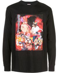 Supreme Graphic Print T-shirt - Black