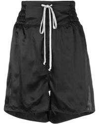 Rick Owens - High Rise Shorts - Lyst
