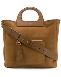 Max Mara - Structured Handle Tote - Lyst