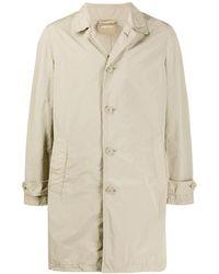 Aspesi Mantel mit geradem Schnitt - Natur