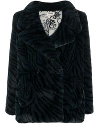 Zadig & Voltaire Miller Faux-fur Jacket - Black