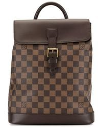 Louis Vuitton 2005 Soho Backpack - Brown