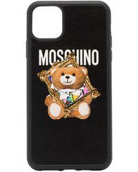Moschino 'Polo Bear' iPhone 11-Hülle - Schwarz