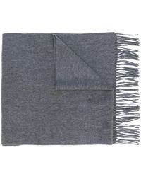 N.Peal Cashmere カシミア スカーフ - グレー