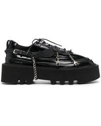 Rombaut Olov Elevator Oxford Shoes - Black