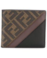 Fendi Бумажник Ff Pattern - Коричневый