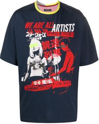Frankie Morello - グラフィック Tシャツ - Lyst