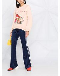 Marni Толстовка С Цветочным Принтом И Логотипом - Розовый