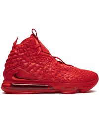 Nike Lebron 17 Sneakers - Red