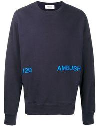 Ambush ロゴ スウェットシャツ - ブルー