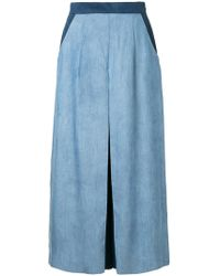Guild Prime   Cropped Contrast Trousers   Lyst
