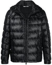 Valentino Vltn タイムズ パデッドジャケット - ブラック