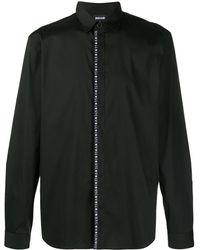 Just Cavalli コンシールプラケット シャツ - ブラック