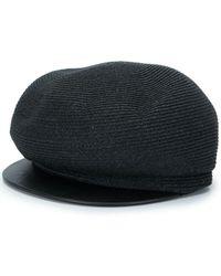 Yohji Yamamoto Woven Cap - Black
