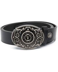 Versace Jeans Couture Ремень С Узором Barocco - Черный