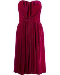 Dolce & Gabbana - Коктейльное Платье Со Сборками - Lyst