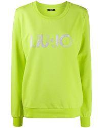 Liu Jo - ロゴ スウェットシャツ - Lyst