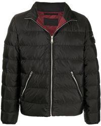 Prada Long-sleeve Puffer Jacket - Black