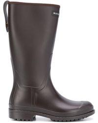 Mackintosh Abington Short Wellington Boots - Brown