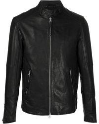AllSaints Coram ライダースジャケット - ブラック