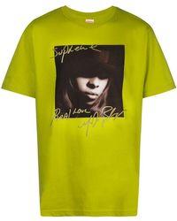 Supreme Mary J. Blige Tシャツ - イエロー
