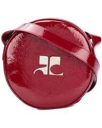 Courreges - Round Logo Cross-body Bag - Lyst