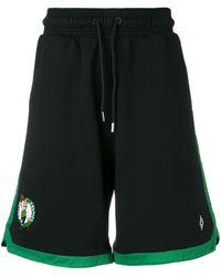 Marcelo Burlon Boston Celtics ショーツ - ブラック