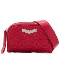 Jimmy Choo Helia Belt Bag - Red