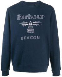 Barbour Beacon スウェットシャツ - ブルー