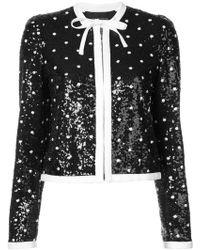 Giambattista Valli - Sequin Embellished Jacket - Lyst