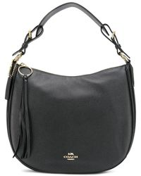 COACH Sutton Hobo Tas - Zwart