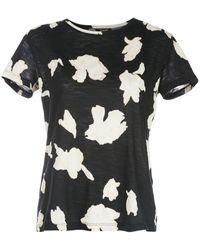 Proenza Schouler フローラル Tシャツ - ブラック