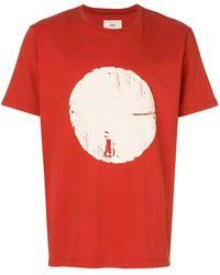 Folk - T-shirt Met Print - Lyst