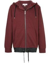 Public School - Zipped Hooded Sweatshirt - Lyst
