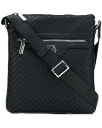 Versace Jeans - Small Branded Messenger Bag - Lyst
