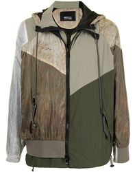 Mostly Heard Rarely Seen Every Which Way Windbreaker - Green
