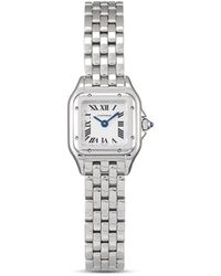 Cartier Наручные Часы Panthère 30 Мм 2020-го Года Pre-owned - Металлик