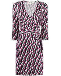 Diane von Furstenberg Платье New Julian С Запахом - Многоцветный