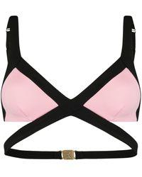 Agent Provocateur Mazzy Triangle Bikini Top - Multicolour