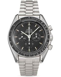 Omega Orologio Pre-owned Speedmaster Moonwatch Professional 42mm 1985 - Nero